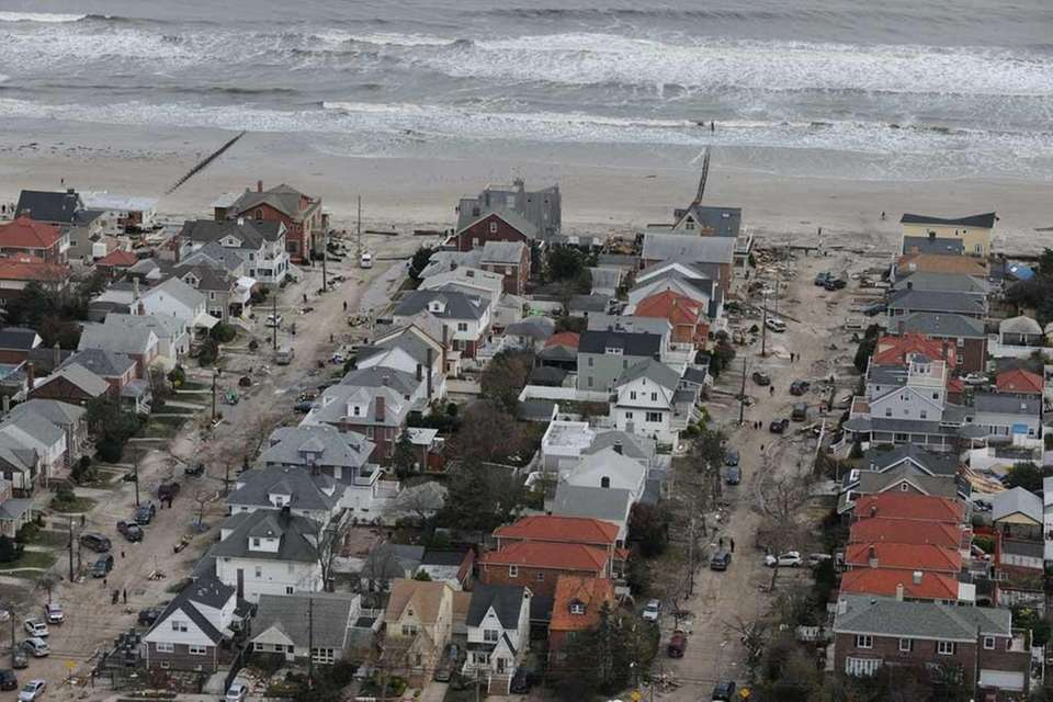 A look at the damage caused by Sandy