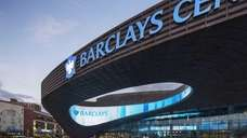 The oculus at the Barclays Center in Brooklyn.