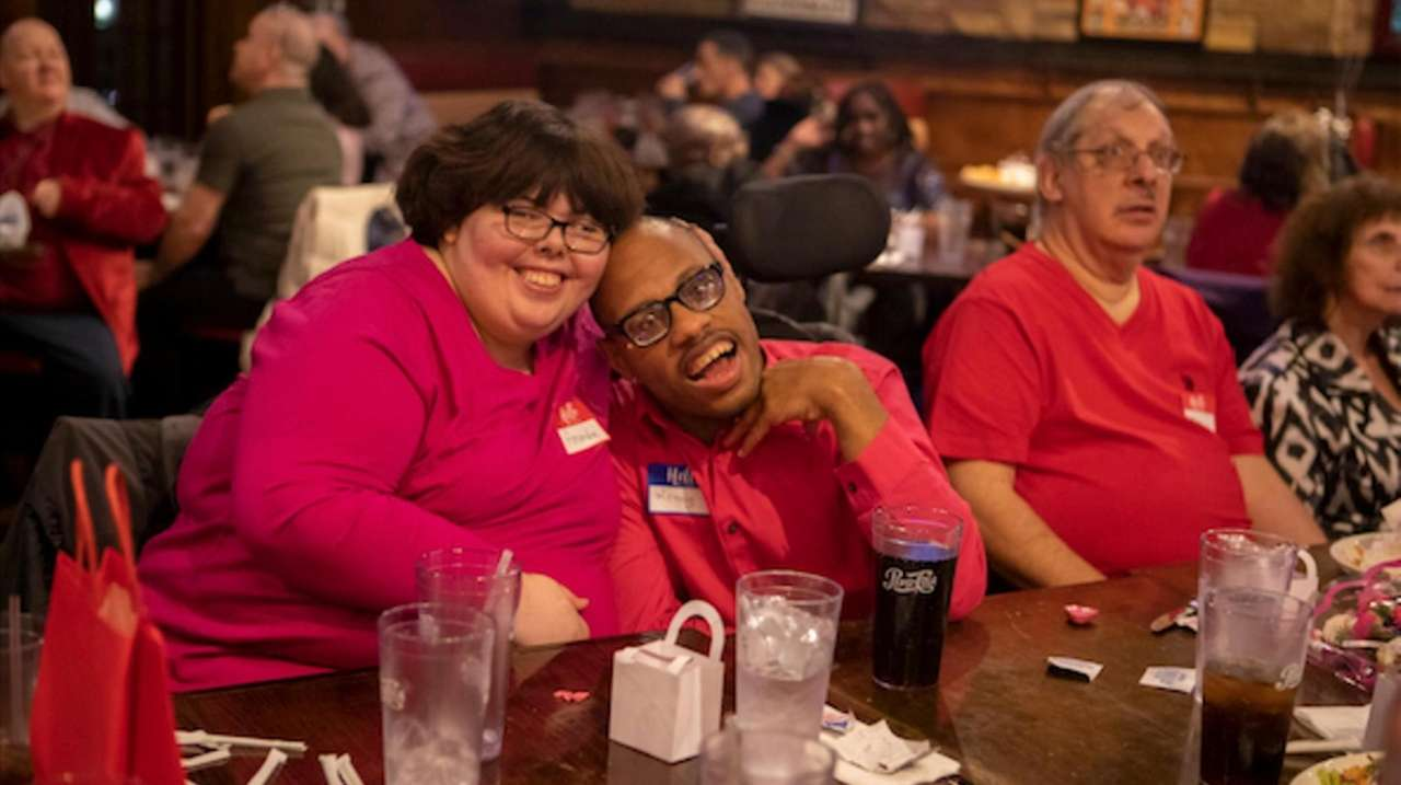"""AHRC Nassau hosted an early Valentine's Day """"Date"""