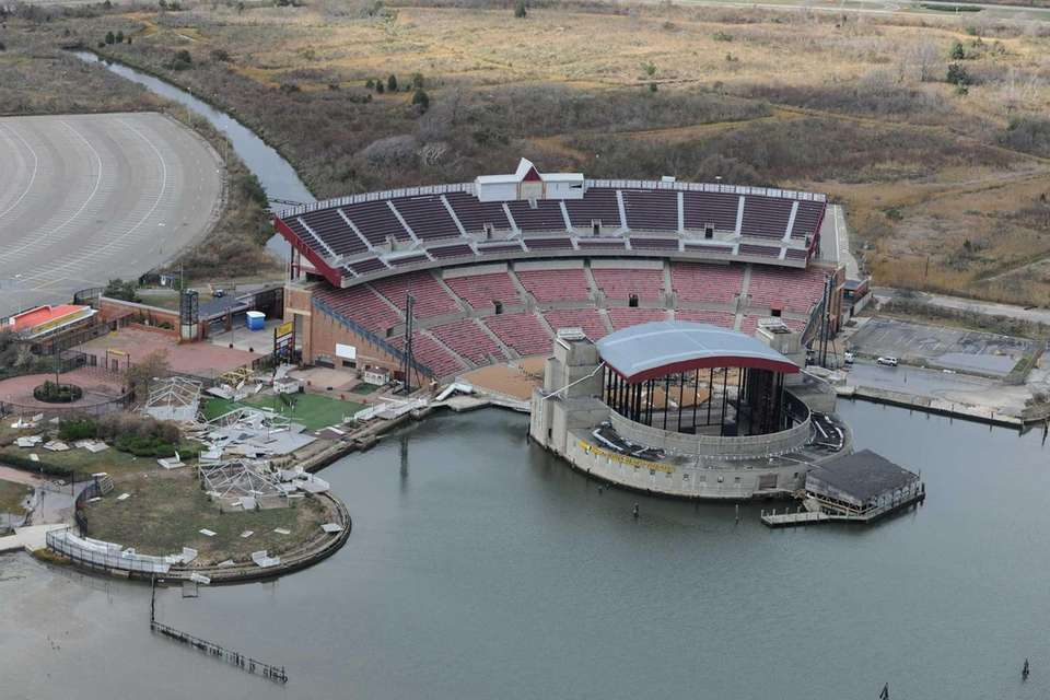 An aerial look at Nikon at Jones Beach