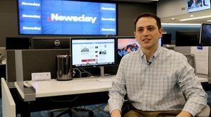 Newsday politics reporter Scott Eidler spoke Feb. 12