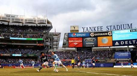 New York City FC faces the New England
