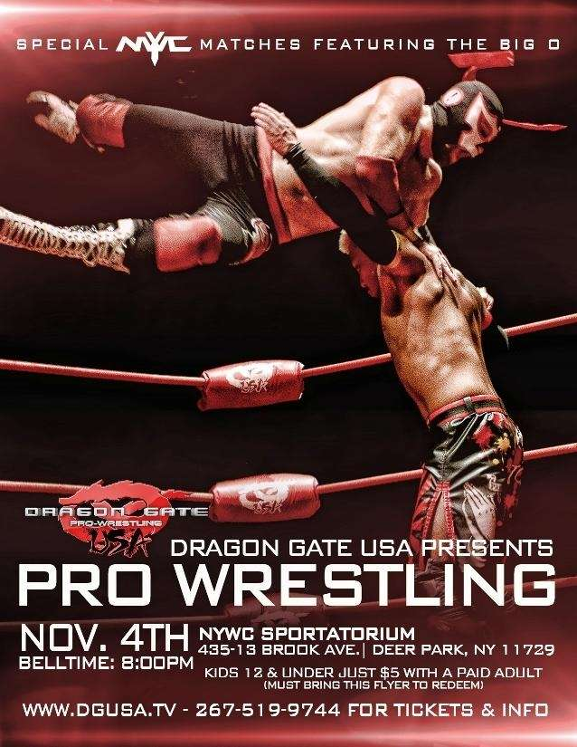 Dragon Gate USA held a 2012 card at