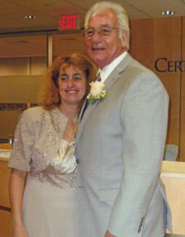 Annmarie and Joseph Annunziata on their wedding day