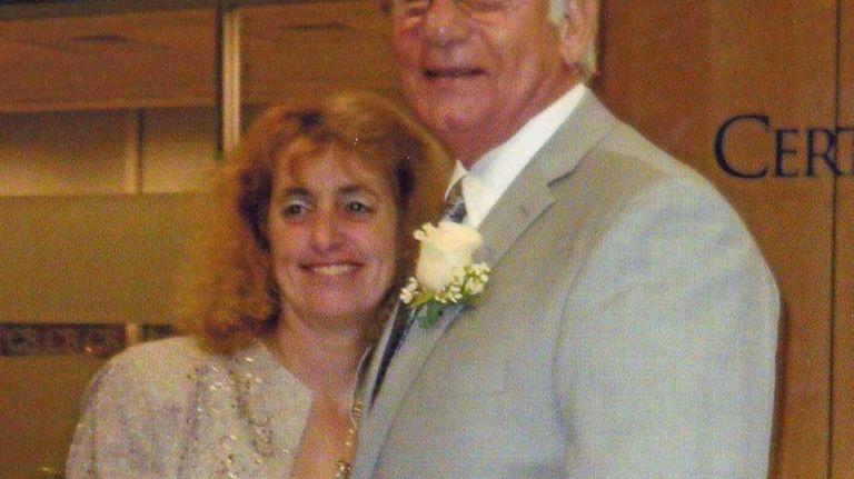 Annmarie and Joseph Annunziata on their wedding day