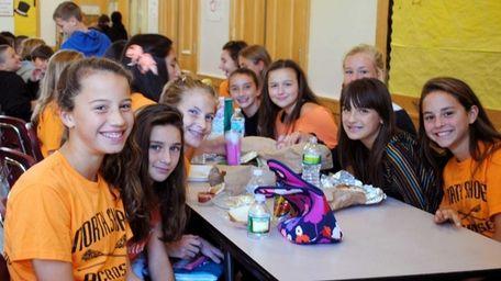North Shore Middle School last month took part