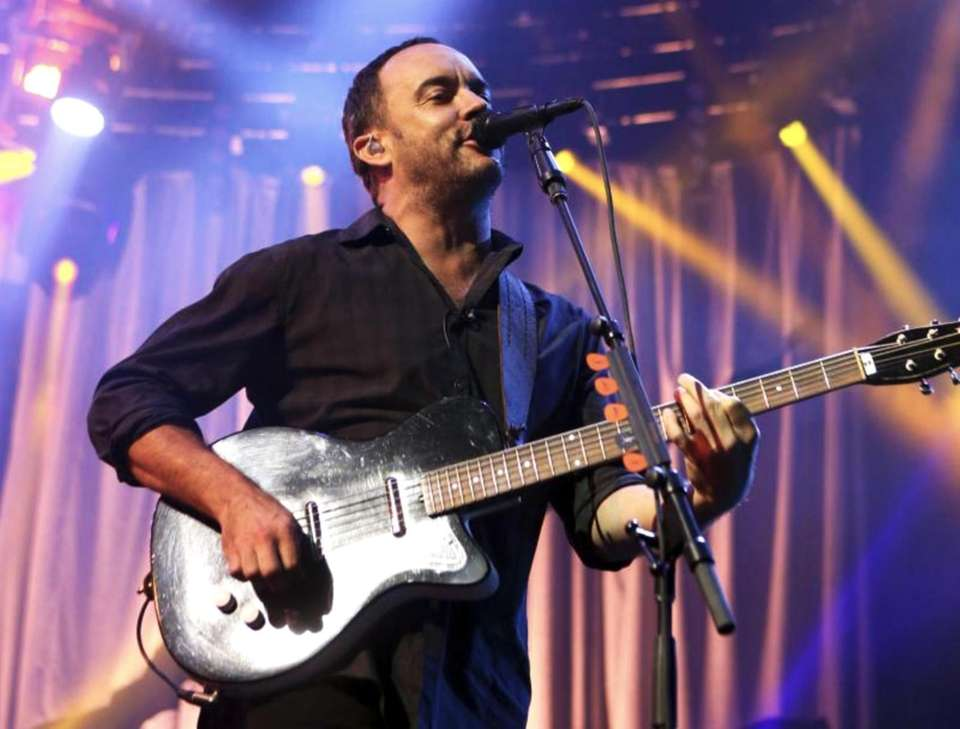 Led by Dave Matthews (pictured), this college rock