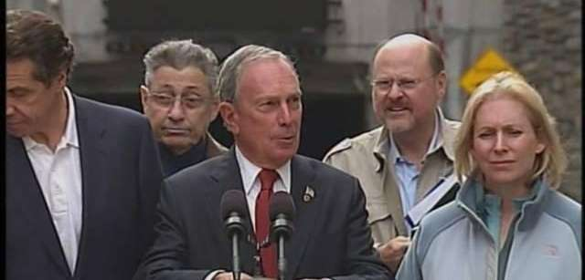Mayor Michael Bloomberg said the storm-related deaths stood