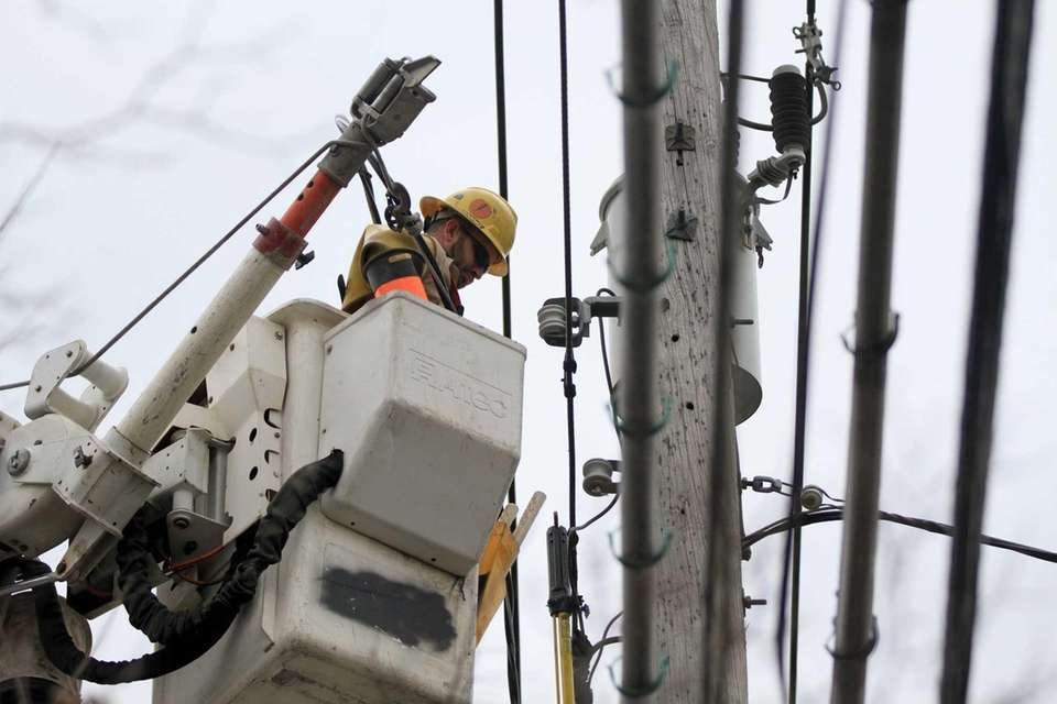 Con Edison contractor Clayton Crabtree, of the Mississippi-based