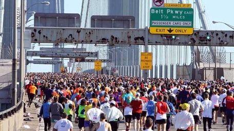 2011 NYC Marathon. (Patrick E. McCarthy)