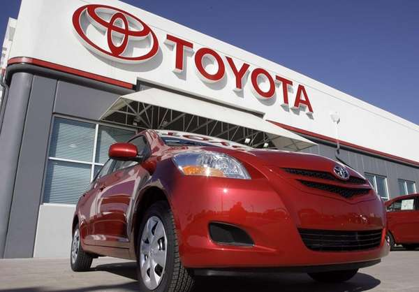 Toyota sales rose almost 16 percent in October,