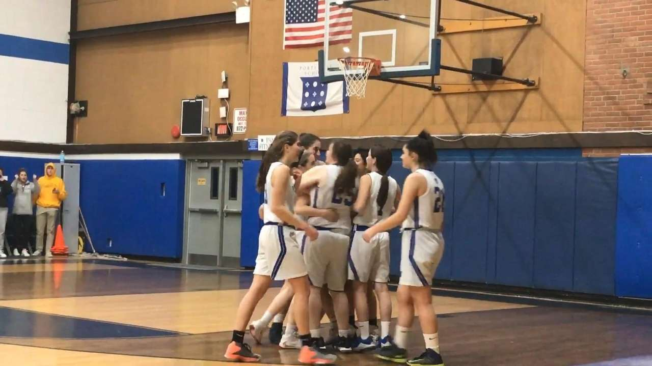 Highlights from Portledge's 44-36 victory over Stony Brook