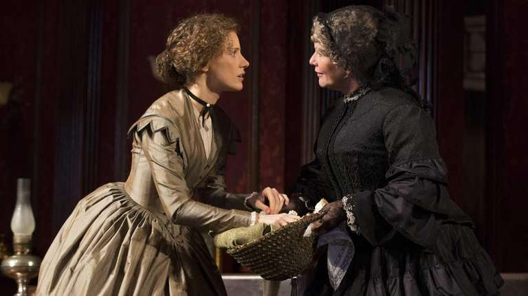 Jessica Chastain, left, and Judith Ivey in