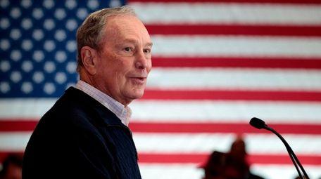 2020 Democratic presidential hopeful and former New York