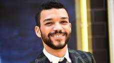"Justice Smith attends the premiere of ""Pokemon"