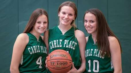 Carle Places teammates and sisters, from left, Amanda,