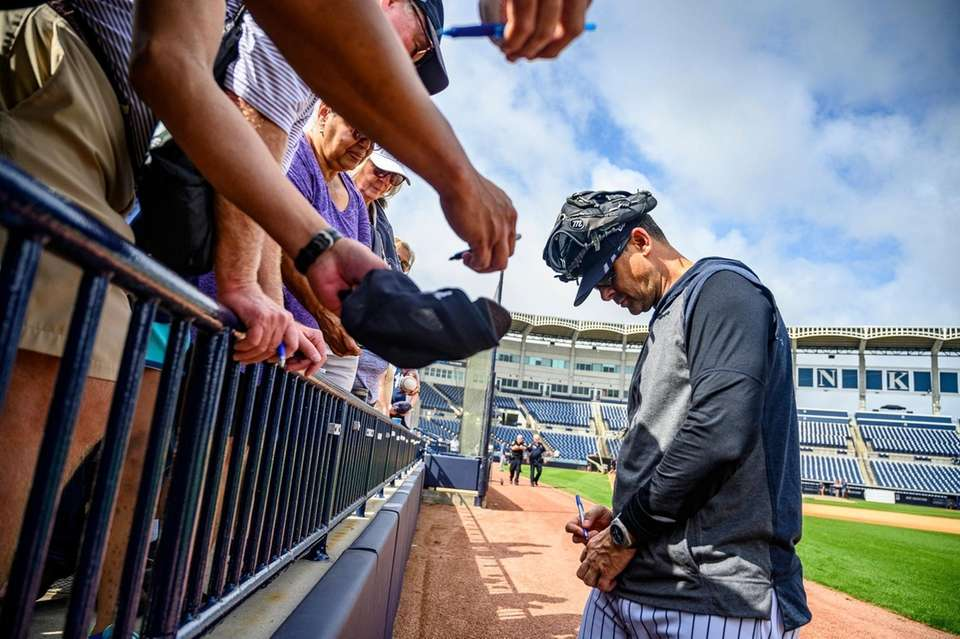New York Yankees spring training in Tampa, FL