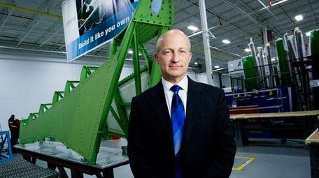 CPI Aero president and chief executive Douglas McCrosson