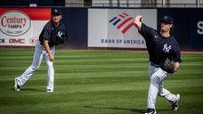On Friday, Yankees managerAaron Boonespoke at spring training