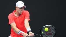 Kyle Edmund of Great Britain will face Serbian