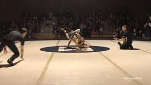 Bayport-Blue Point's Joe Sparacio won by decision, 8-3,