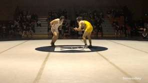 Mt. Sinai's Joe Goodrich won by fall, 4:53,