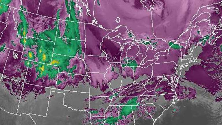National Weather Service forecasters Saturday morning issued a