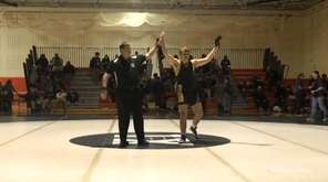 Mattituck-Greenport-Southold's Tyler Marlborough won by decision, 6-1, over