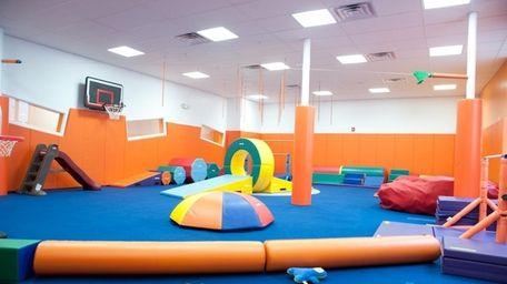 Kidville, a popular destination for children's classes, athletics