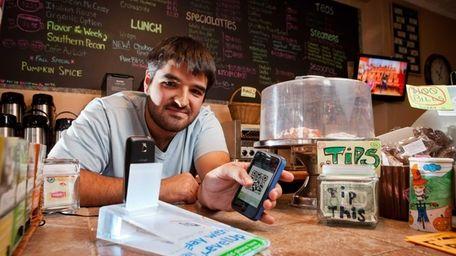David Sabatino, co-owner of Sip This, a coffee