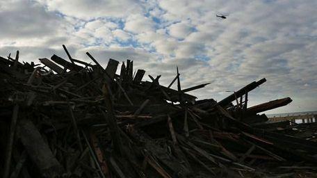 Sandy destroyed homes