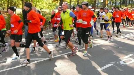Runners who were planning to participate in the