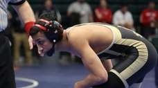 Wantagh's Josiah Encarnacion in the Nassau High School