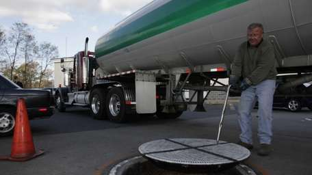 Tanker truck delivery driver Scott Carduff of PCT