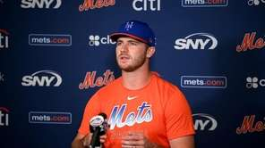 Mets firstbaseman, Pete Alonso, said that team's mindest