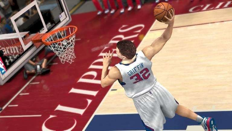 Los Angeles Clippers Blake Griffin throws one down