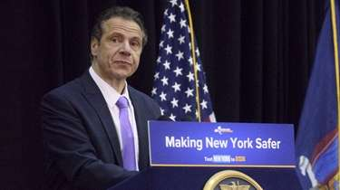 Gov. Andrew M. Cuomo announces the signing of
