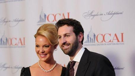 Actress Katherine Heigl and husband, Josh Kelley, were