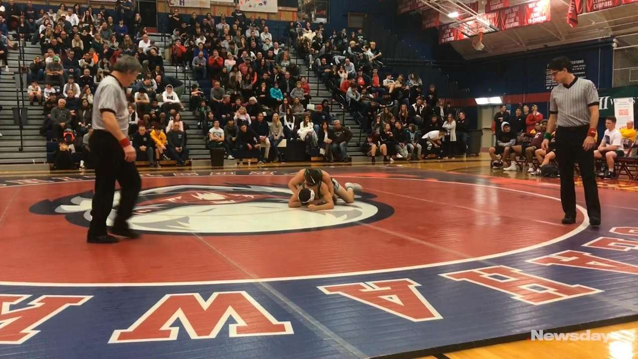 Locust Valley's Gage DeNatale won by technical fall