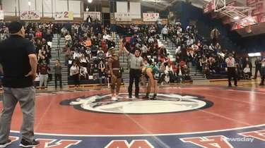 Clarke's Karl Bouyer won by decision 7-3 over