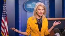 Kellyanne Conway, counselor to the president, defends Trump's