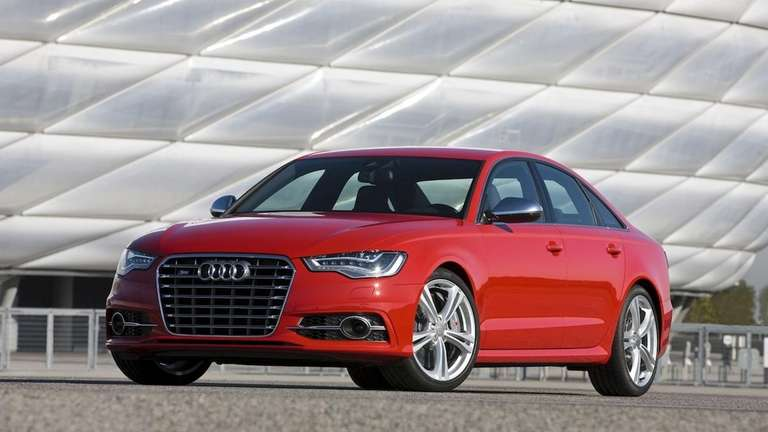 The Audi S4 competes with higher-performance versions of
