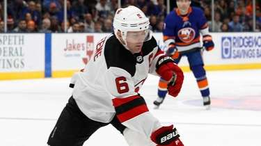 The Islanders aquired defeseman Andy Greene from the