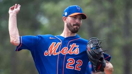 Mets pitcher Rick Porcello allowed no runs and