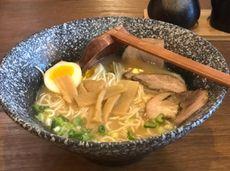 A bowl of shoyu pork ramen at Sei