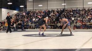 Rocky Point's Nick Lamorte won via 5-3 decision