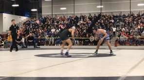 Rocky Point's Nick Lamorte won via 5-3 decision