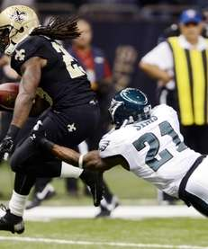 New Orleans Saints running back Chris Ivory (29)