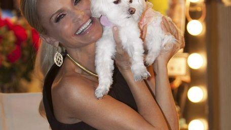 Hero Dog Awards Host, Kristin Chenoweth with her