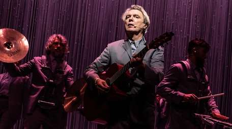 """""""American Utopia"""" starring David Byrne, center, closed on"""